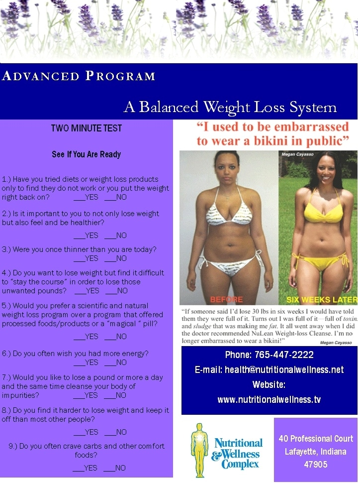 Chiropractic Lafayette IN Office Weight loss